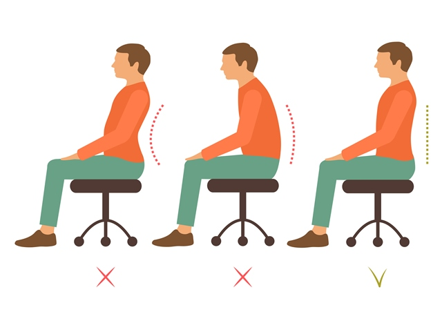 Posture Pictures What Are Examples Of Good And Bad