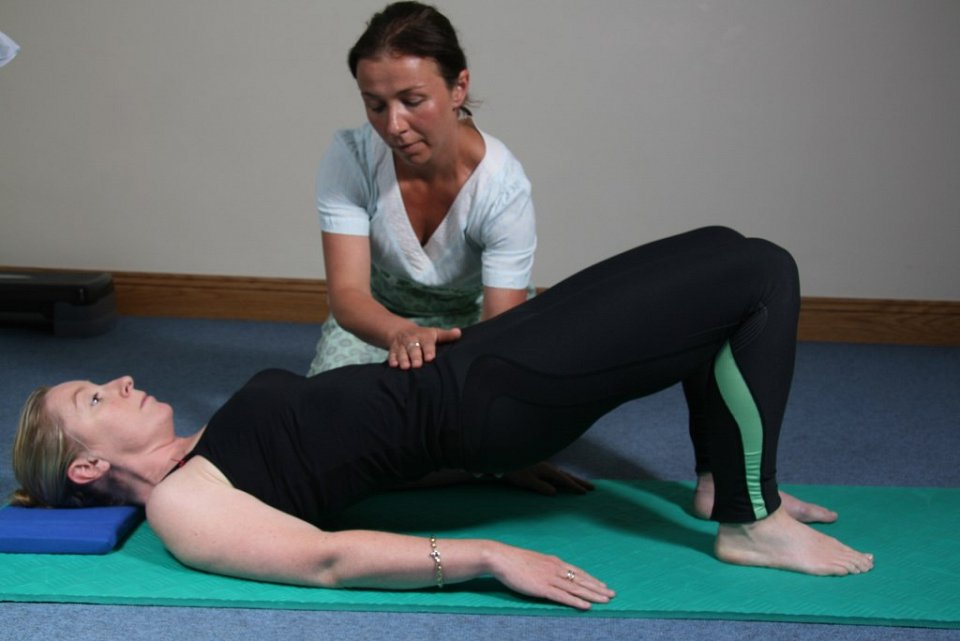 Pilates class - back and neck pain