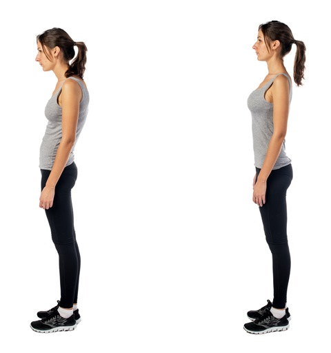 Posture pictures - what are examples of good and bad sitting and ...