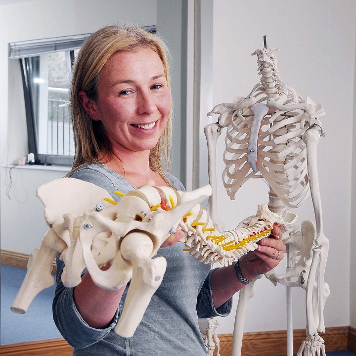 Sally Ann Quirke Chartered Physiotherapist and author of managebackpain.com